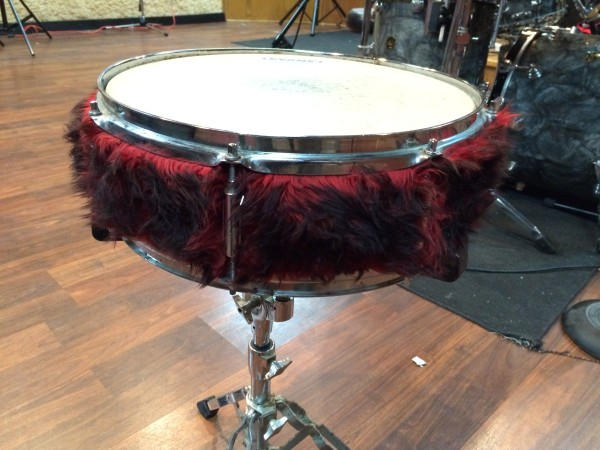 RED FUZZY SNARE
