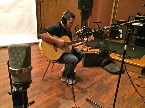 Acoustic guitars sound great in this room!