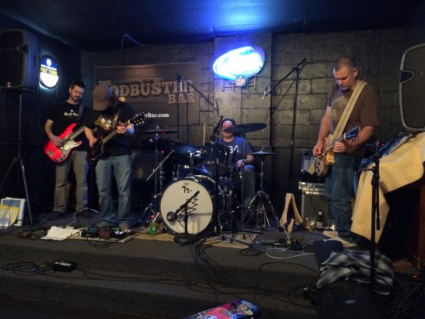 Funkin Wagnals / Octoberfield Report / The Blue Hook / AJ Szozda live at Sodbuster in Sylvania