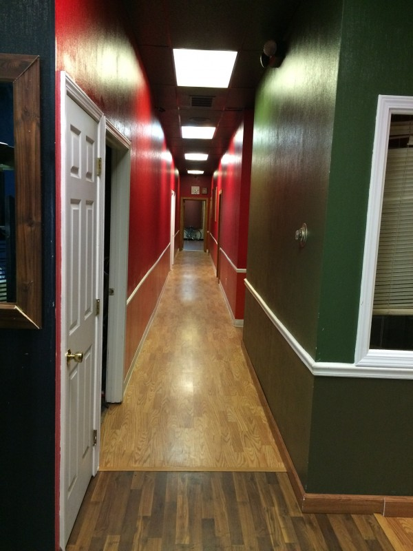 New hardwood floor and ceilings throughout