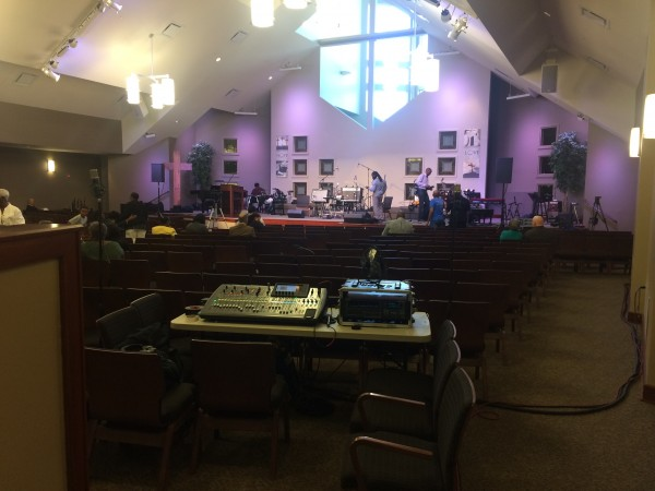 Sacred Strings LIVE with Behringer X32! at First Alliance Church 2017